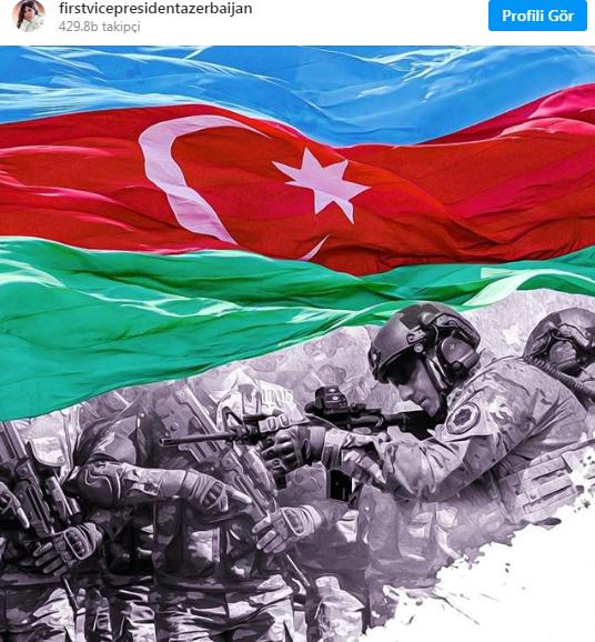 """Mehriban Əliyeva: """"Bizim torpağımız, Vətən uğrunda mübarizəmiz müqəddəsdir!"""""""