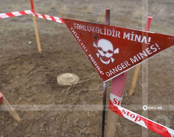 Azad olunan ərazilərin minalardan təmizlənməsi ilə bağlı FƏRMAN