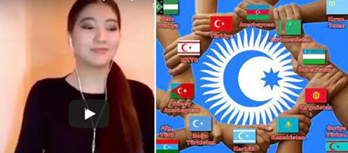 Azərbaycan- sevdam mənim….Türklük marşı Qazaxıstanlı gəncin ifasında