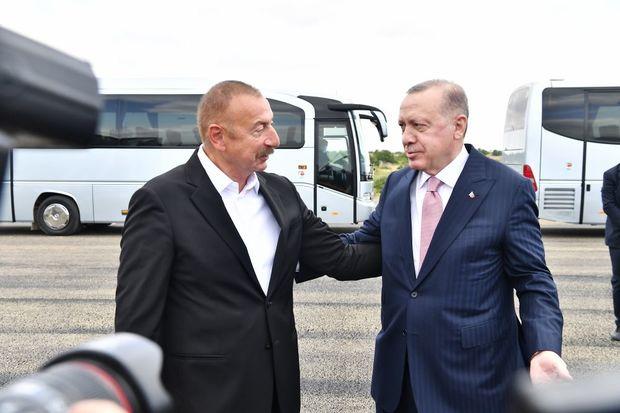 Azərbaycan və Türkiyə prezidentləri Şuşada