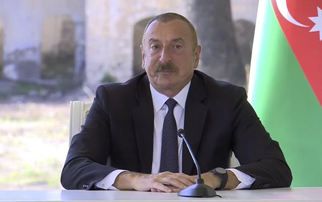 """""""Tarixi gündür"""" – İlham Əliyev"""