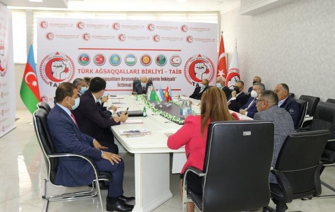 Türk Ağsaqqalları Birliyinin (TAİB) Təşkilat Komitəsinin sədri seçildi – FOTOLAR