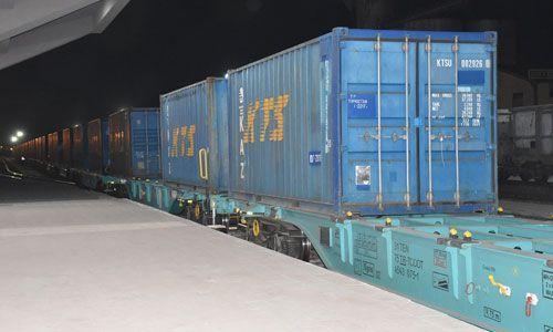 BTQ ilə yola salınan ilk qatar qrafiki 10 saat qabaqlayıb