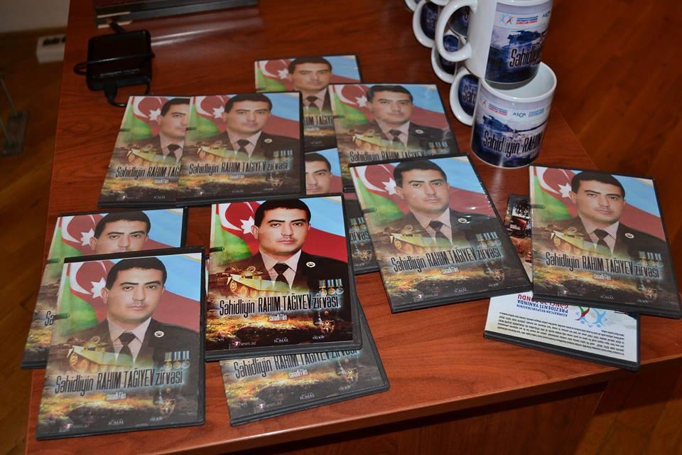 """""""Şəhidliyin Rahim Tağıyev zirvəsi"""" sənədli filminin təqdimatı keçirilib"""