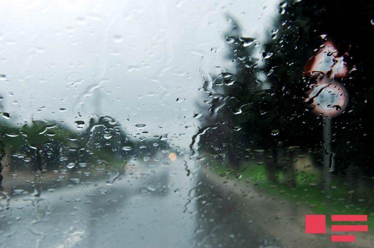 Hava yağışlı və küləkli olacaq, temperatur 5 dərəcə enəcək