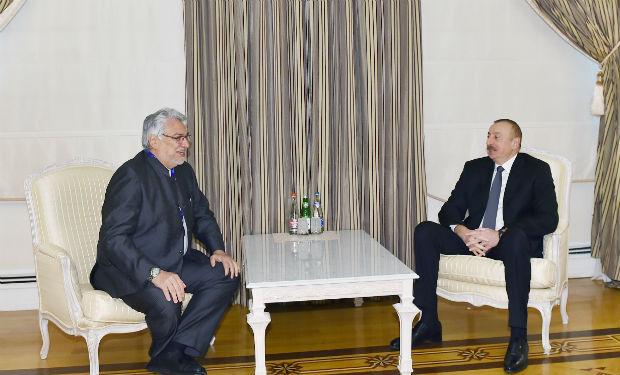 İlham Əliyev Paraqvay Senatının sədrini qəbul etdi