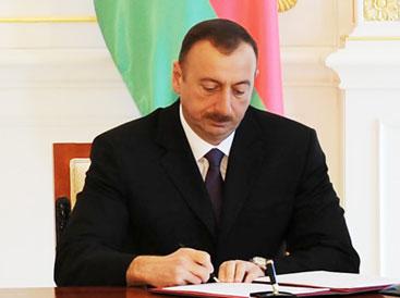 Prezident mühüm fərman imzaladı