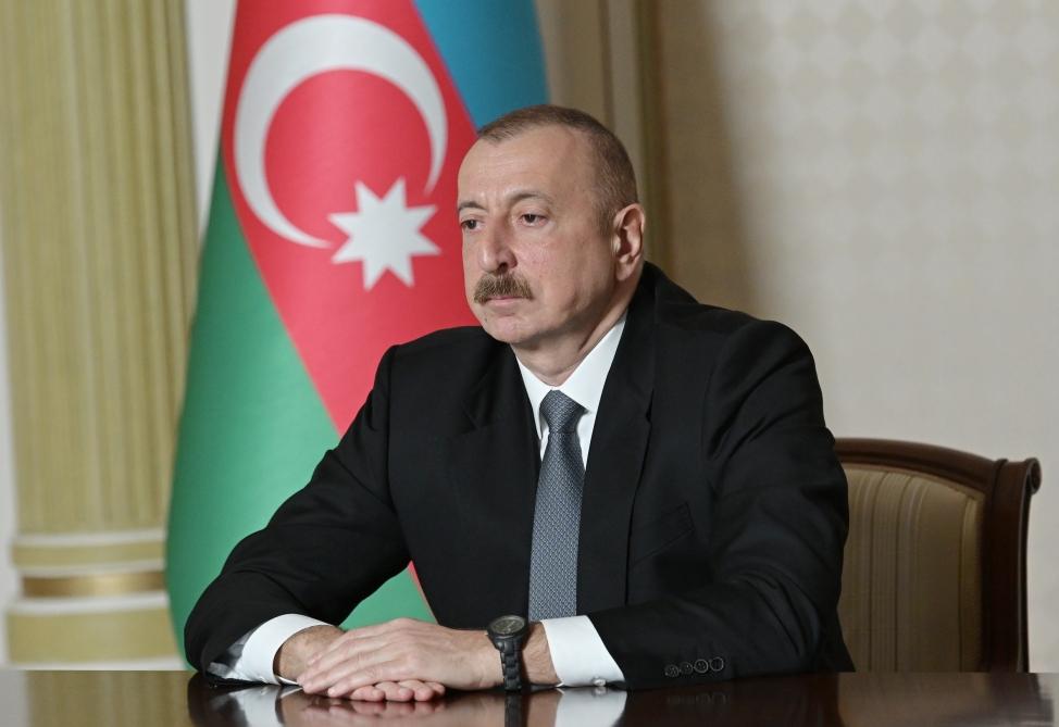 İlham Əliyev yeni təyin olunan icra başçılarını videoformatda qəbul edib