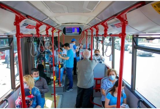 Avtobuslarda kondisionerlər bu səbəbdən yandırılmır – RƏSMİ