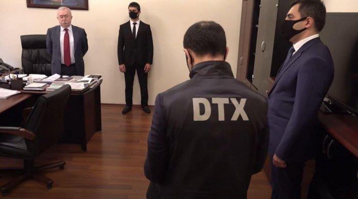 DTX-nın XİN-də keçirdiyi əməliyyatın görüntüləri yayılıb