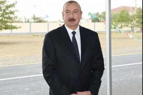 İlham Əliyev Milli Qəhrəmanın adını daşıyan məktəbin açılışında