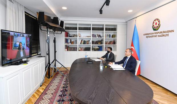 Mikayıl Cabbarov Dünya Bankının regional direktoru ilə görüşdü