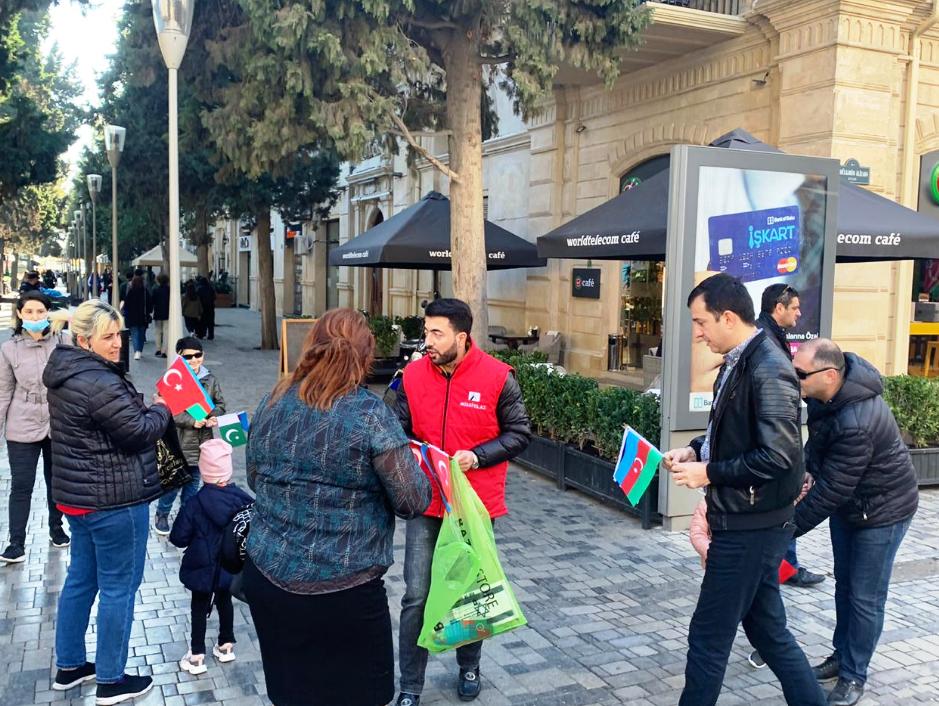 Bayraq aksiyası Türk mediasında
