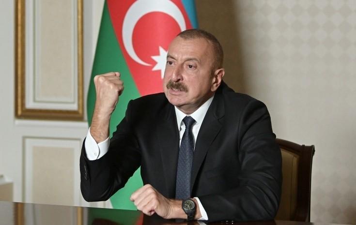 """Prezident: """"Azərbaycan zabiti bir amalla vuruşurdu: tarixi ədalət zəfər çalsın"""""""