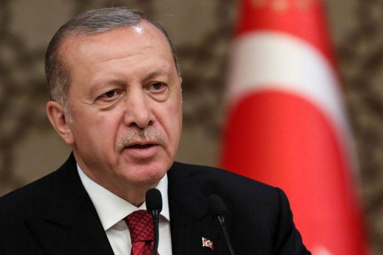 """Ərdoğan: """"Azərbaycan və digər dostlarımızın mənafelərini qorumağa çalışırıq"""""""