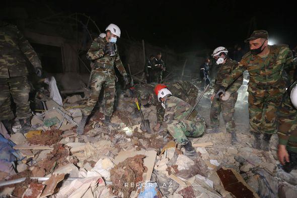 """""""Human Rights Watch"""" təşkilatı Ermənistanın klastr bombalarından istifadə etməsi barədə hesabat yayımlayıb"""