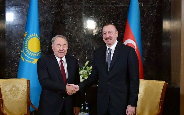 Nursultan Nazarbayev İlham Əliyevə məktub göndərdi
