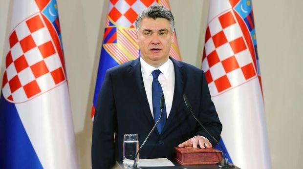 Xorvatiya prezidenti İlham Əliyevi təbrik etdi