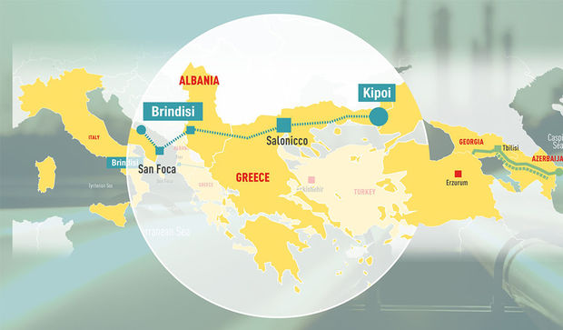 Azərbaycan qazı artıq Yunanıstan ərazisindədir