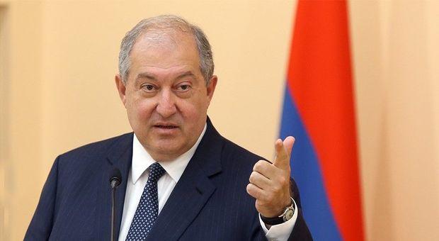 Ermənistan prezidenti koronavirusa yoluxdu