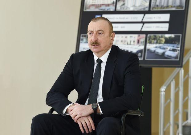 İlham Əliyev Serbiyanı işğaldan azad olunmuş ərazilərdə yenidənqurma işlərinə qoşulmağa çağırdı