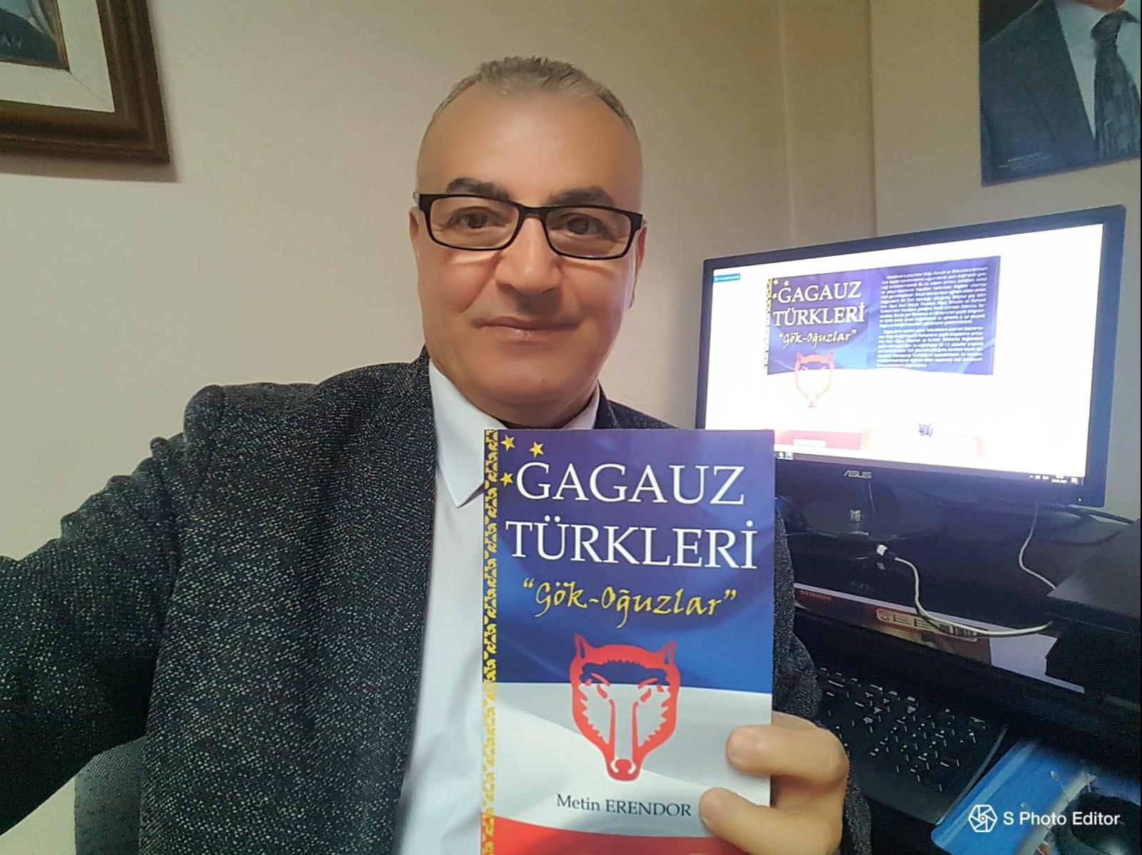 """""""Gagauz Türkleri-Gök oğuzları"""" kitabı çapdan çıxıb"""