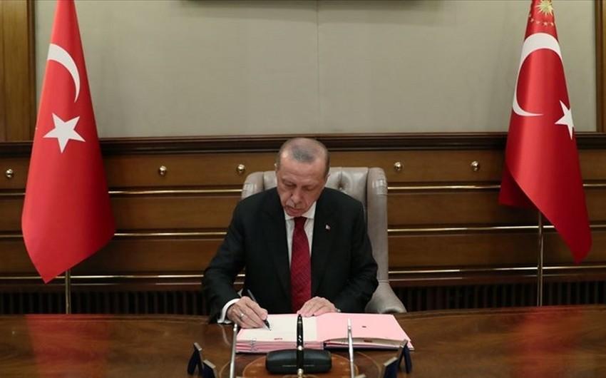 Ərdoğan Beynəlxalq Türk Mədəniyyəti və İrsi Fondu ilə bağlı sənədi təsdiqləyib