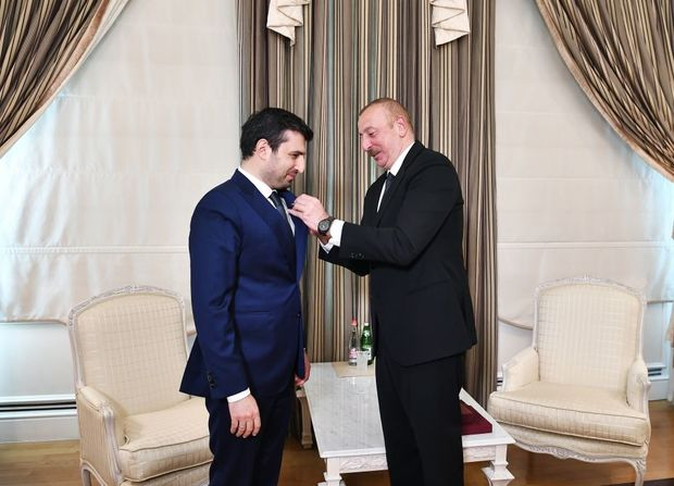 İlham Əliyev Selçuk Bayraktarı qəbul etdi
