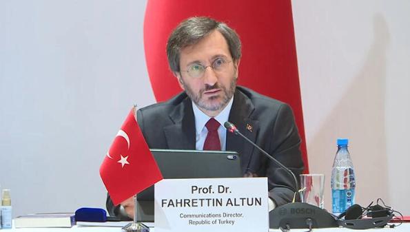"""Fahrettin Altun:""""12 yıllık süreçte konsey, hızla kurumsallaştı ve uluslararası arenada önemli bir platform haline geldi"""""""