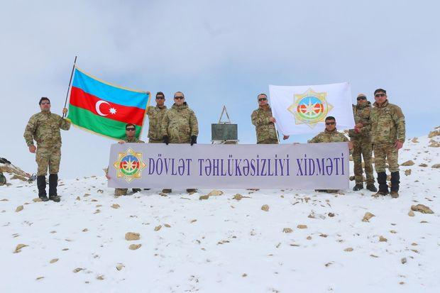 """DTX əməkdaşları """"Heydər zirvəsi""""nə yürüş təşkil edib"""