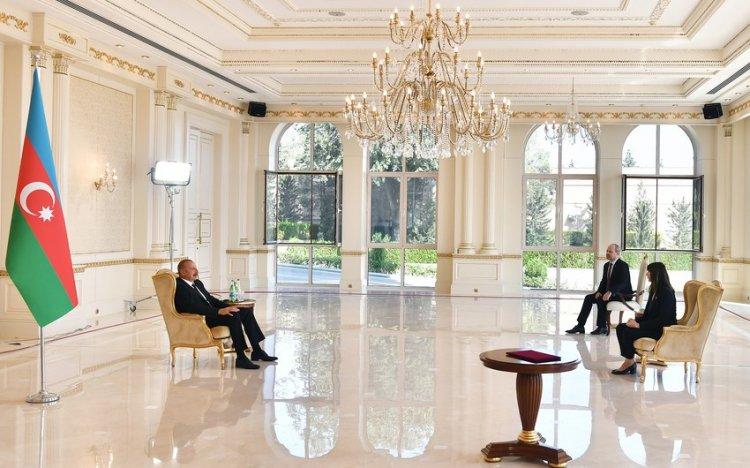 İlham Əliyev BMT-nin yeni rezident əlaqələndiricisini qəbul edib