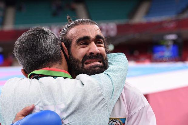 Tokio Olimpiadası: Rafael Ağayev gümüş medal qazandı