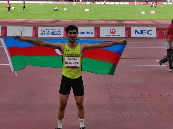 Paralimpiya Oyunları: İdmançımız uzunluğa tullanmada Azərbaycana növbəti medalı qazandırdı